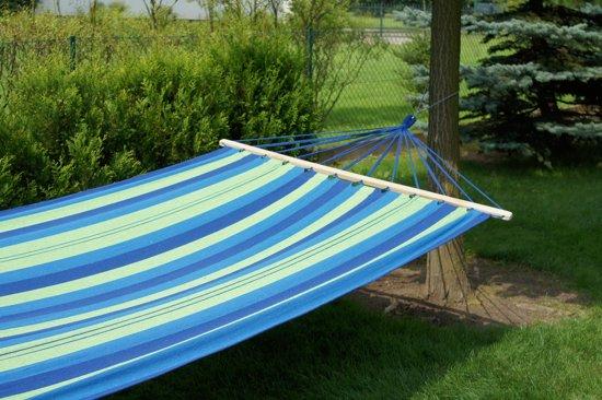 Potenza- 2 persoons  hangmat / twee persoons hangmat met spreidstok