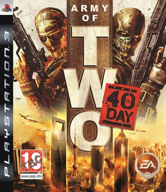 Army of Two: The 40th Day (PEGI) /PS3
