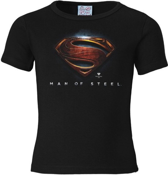 Logoshirt T-Shirt Superman - Man Of Steel