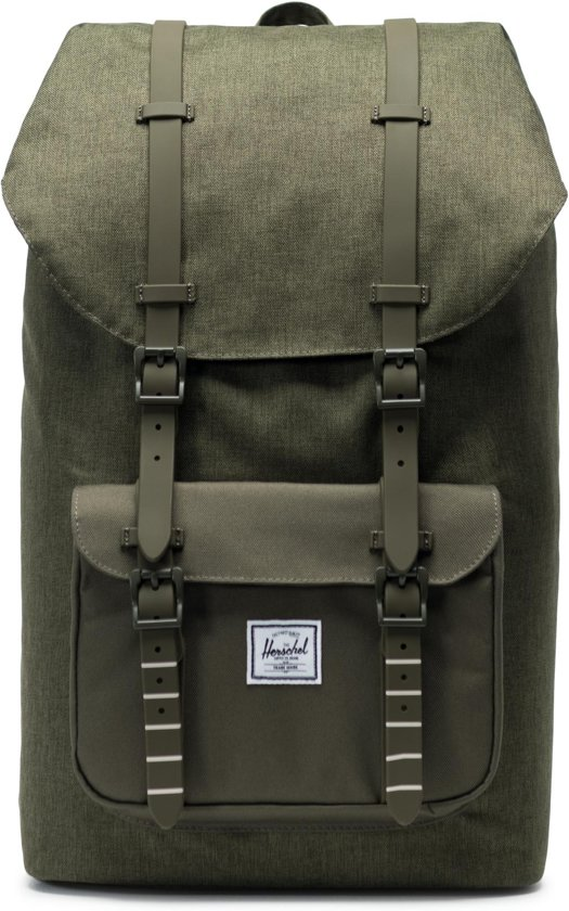 6665f7799ab bol.com | Herschel Supply Co. Little America Rugzak - Olive Night ...