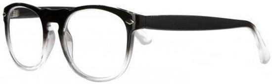 Icon Eyewear QCB002 Luciano Leesbril +1.00 - Zwart, transparant