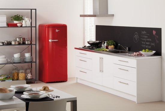Retro Pelgrim Koelkast : Bol pelgrim pkv retro koelkast rood
