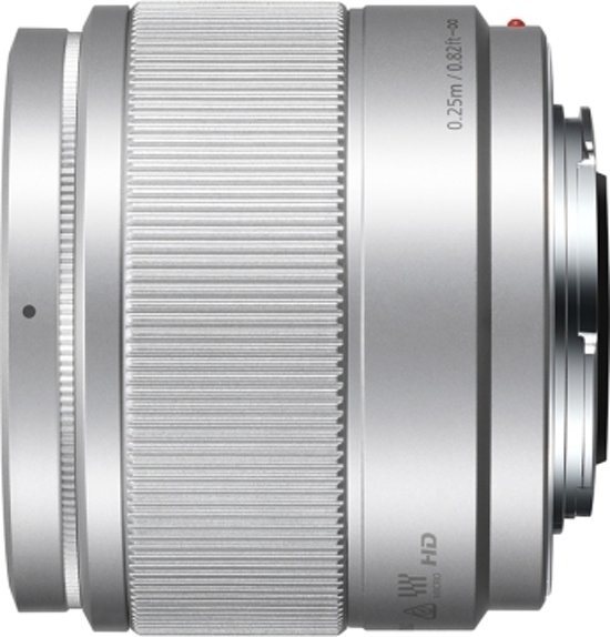 Panasonic Lumix G 25mm f/1.7 ASPH zilver