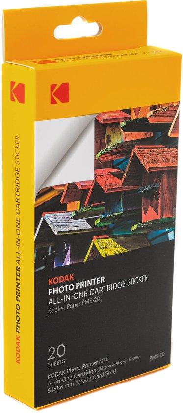 Kodak stickerpapier voor de Kodak Minishot - 20 vellen
