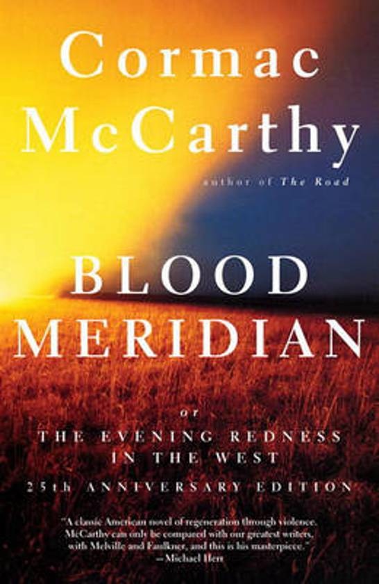 cover Blood Meridian, or, the Evening Redness in the West