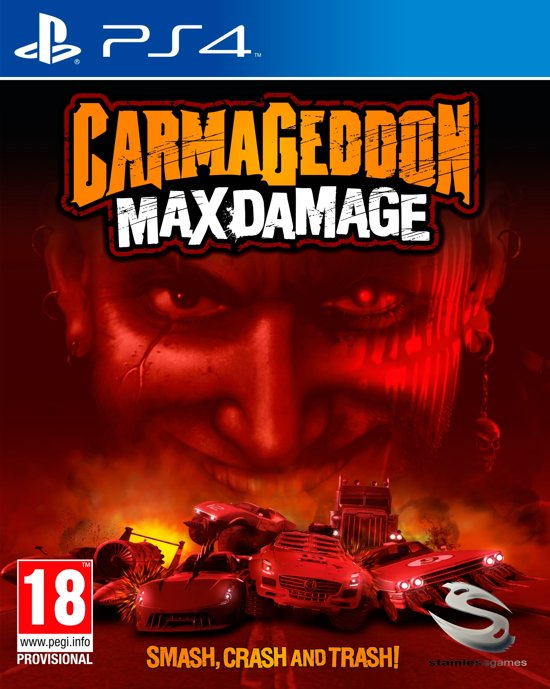 Carmageddon Max Damage PlayStation 4