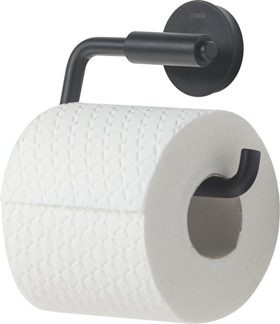 Tiger Urban Toiletrolhouder - Zwart