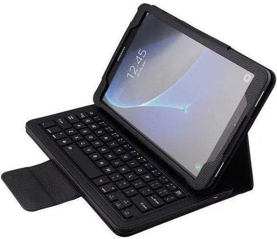 Samsung Galaxy Tab A 10.1 T580/T585 Bluetooth toetsenbord hoes zwart