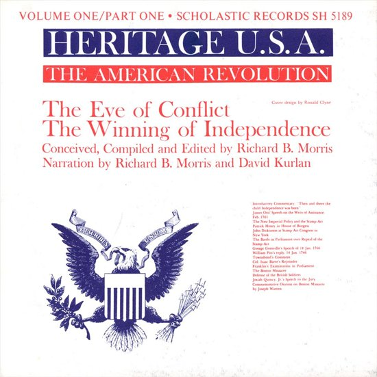 Heritage USA, Vol. 1, Part 1: American Revolution