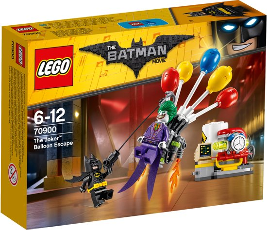 LEGO Batman Movie The Joker Ballonvlucht - 70900