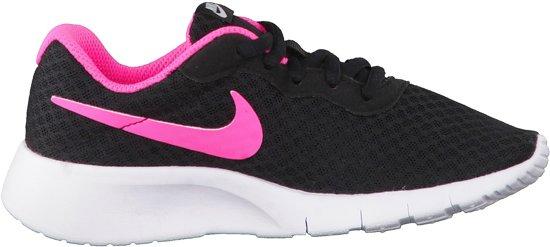 Nike Tanjun BP Sneakers Kinderen - Black/Hyper Pink-White