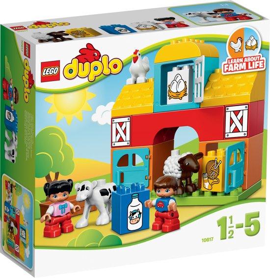 efbd542c578694 bol.com | LEGO DUPLO Mijn Eerste Boerderij - 10617, LEGO | Speelgoed