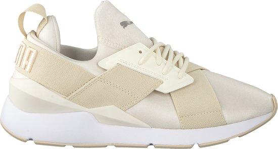 910ccdeb304 bol.com | Puma Dames Sneakers Muse Satin - Beige - Maat 37