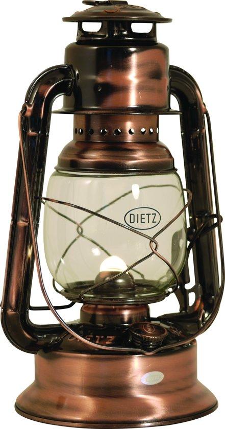 RE Dietz Little Wizard Olielamp - 29,2 cm - Verguld Koper
