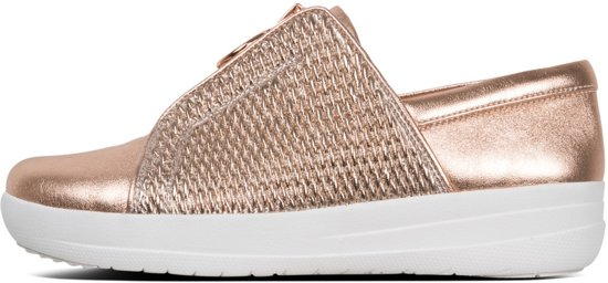 FitFlop™ F-Sporty™ II Shirred Rose Gold - Maat 40
