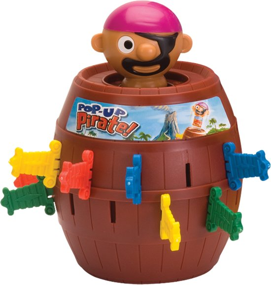 TOMY Pop Up Piraat