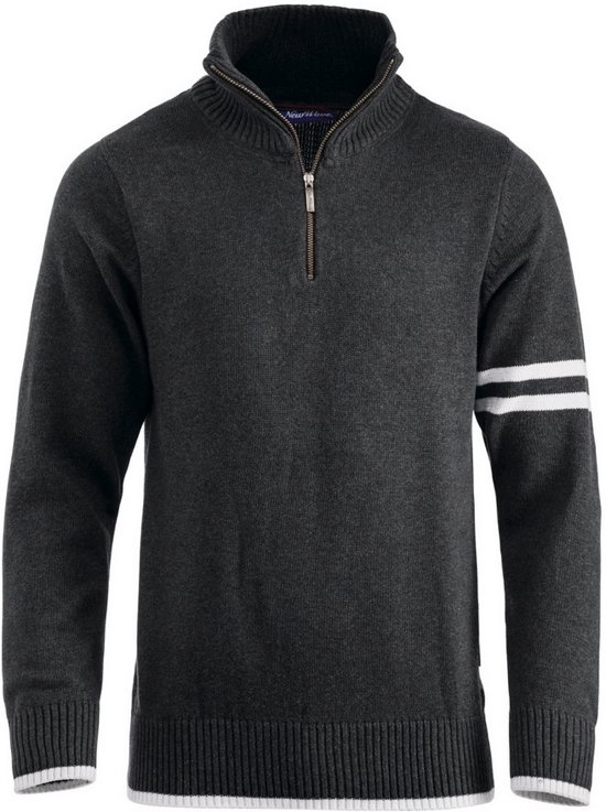 Highland sweater met rits zwart xs