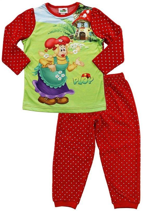 4bc8d7bc31 Plop Meisjes Pyjama - Rood - Maat 86 92