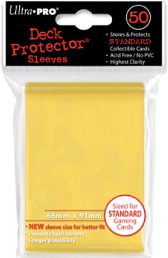 Afbeelding van het spel Standaard Deck Protector Sleeves Yellow (50st.)