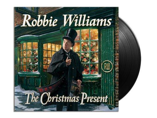 CD cover van The Christmas Present (LP) van Robbie Williams