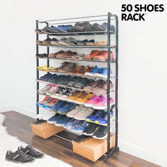 Schoenenkast 40 Paar.Schoenenrek Schoenenkast Geschikt Voor 40 Paar