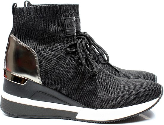 Michael Kors 43F9SKFE9D wedge boots - zwart / combi, ,41 / 7