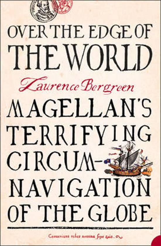 Boek cover Over the Edge of the World van Laurence Bergreen (Paperback)