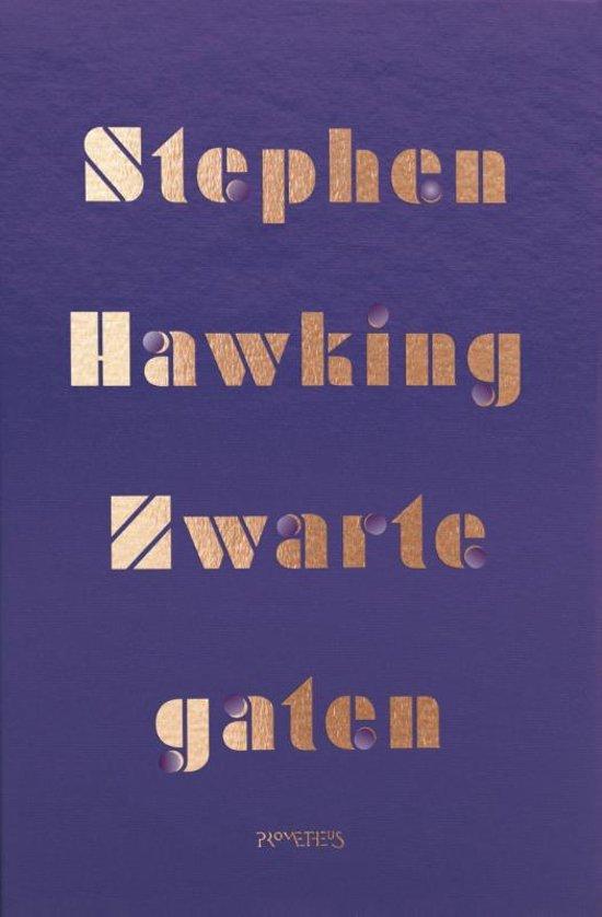 Boek cover Zwarte gaten van Stephen Hawking (Paperback)
