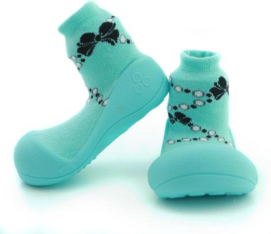 Kinderschoenen.Bol Com Attipas French Pearl Groen Kinderschoenen Maat 22 5