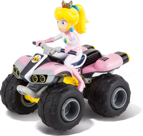 carrera rc mario kart 8 peach bestuurbare auto. Black Bedroom Furniture Sets. Home Design Ideas