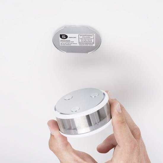 Smartwares Rookmelder Incl. batterij (10 jaar), Mini werkt op batterijen