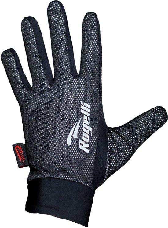 Rogelli Laval - Fietshandschoenen - Unisex -  Zwart - Maat L