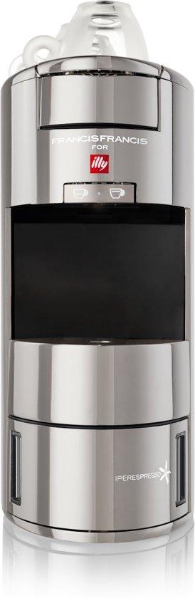 illy X9 Francis Francis Espressomachine
