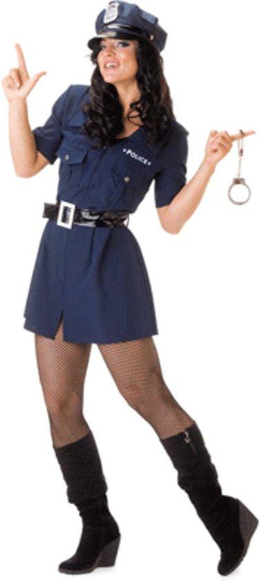 Dames politie jurkje met riem 38 (m)