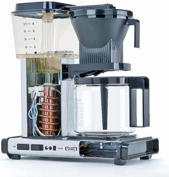 Technivorm Filterkoffiemachine KBG741 - Brick Red - Moccamaster