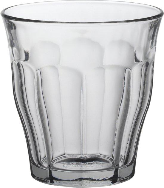Duralex Picardie Tumbler - glaasjes - 160 ml - 6 stuks