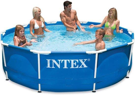 Intex Zwembad Metal Frame 305x76 cm 28200NP