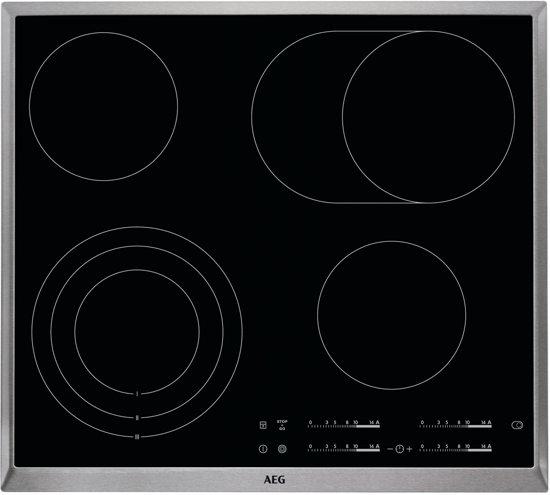 AEG HK654070XB - Keramische kookplaat - Inbouw