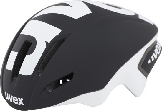 UVEX EDAero Fietshelm zwart Hoofdomtrek 57-59 cm