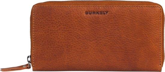 BURKELY Antique Avery Wallet L - Ritsportemonnee - Dames - Leer - Cognac