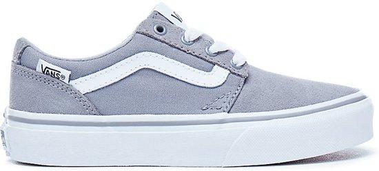 b2a0f227c81 Vans Chapman Stripe Sneakers - Maat 37 - Unisex - grijs/wit