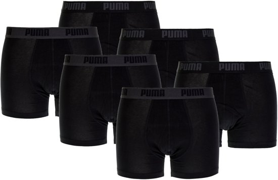 Puma Boxershort - Maat S  - Mannen - zwart