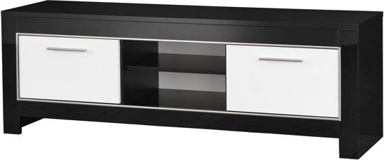 Tv Kast Zwart Wit.Bol Com Tv Meubel 160 Mod Zwart Wit