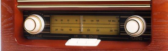 Camry CR 1115 - Retro radio - CD/MP3 - recording