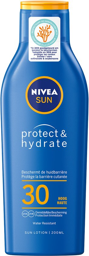 NIVEA SUN Protect & Hydrate Zonnemelk - SPF 30 - 200 ml