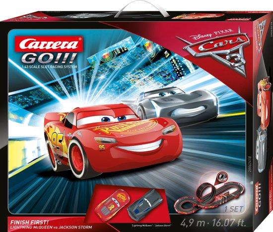 Carrera GO!!! Disney Cars 3 Finish First! - Racebaan