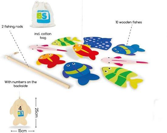 Thumbnail van een extra afbeelding van het spel BS Vissen - Hout