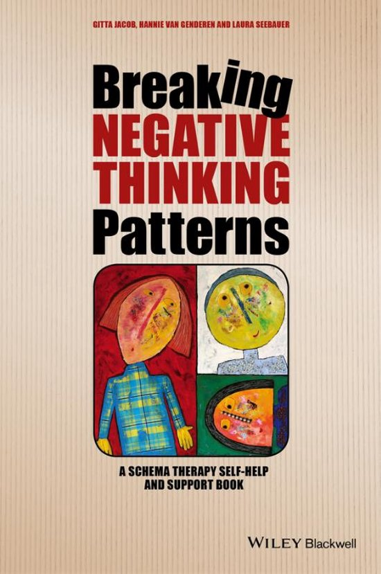 Boek cover Breaking Negative Thinking Patterns - a Schema Therapy Self-help and Support Book van Gitta Jacob (Paperback)
