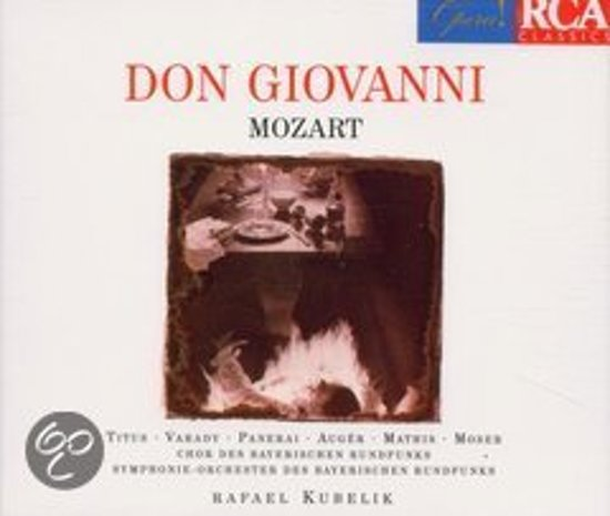 Mozart: Don Giovanni / Titus, Panerai, Kubelik
