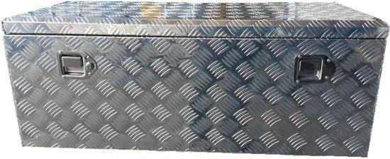 Aluminium Opberg Kist.Aluminium Munitie Kist Zeer Groot Opbergkist